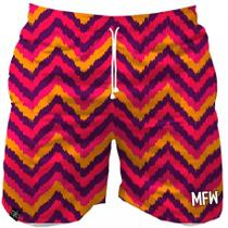 Short Tactel Masculino Zig Zag com Bolsos - Maromba fight wear