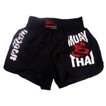 Shorts Calção Para Muay Thai Progne Feminino -
