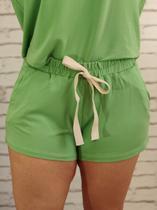 Shorts Conjunto Liso Verde - Imporium