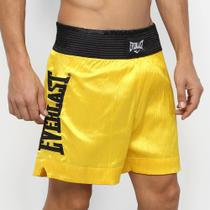 Shorts De Muay Thai/Boxe Everlast C/ Bordado Assinatura -