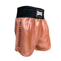 Shorts de Muay Thai Cetim MT 14 Goldem Série 2 Rudel Sports -