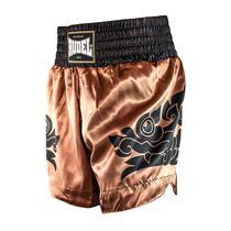 Shorts de Muay Thai Cetim MT13 Dragão Goldem Rudel Sports -