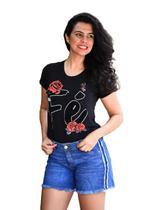 Shorts Jeans Feminino Cambos -