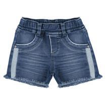 Shorts Look Jeans Moletom Jeans -