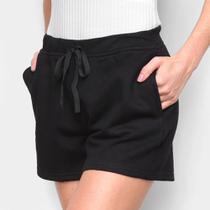 Shorts Top Moda Curto C/ Bolsos Feminino -