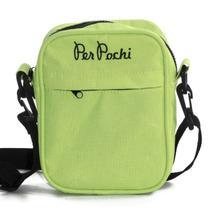 Shoulder Bag Per Pochi Amarelo Limão Neon -