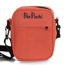 Shoulder Bag Per Pochi Laranja Neon -