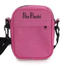 Shoulder Bag Per Pochi Rosa Neon -