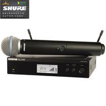 Shure BLX-24RBR/B-58 M15 Microfone Sem Fio De Mão -