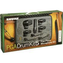 Shure - Kit De Microfone Para Bateria 5 Peças PGADRUMKIT5 -