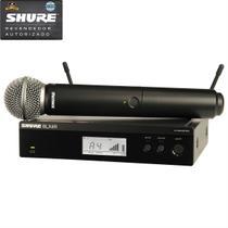 Shure  Microfone Sem Fio De Mão BLX24RBR/SM58 M15 -