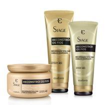 Siàge Reconstrói os Fios Kit Shampoo/Condicionador/Mascara - Eudora