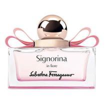 Signorina In Fiore Salvatore Ferragamo Perfume Feminino - Eau de Toilette - 50ml -