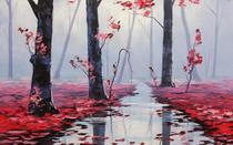 Silêncio Rosa - Graham Gercken - 60x96 - Tela Canvas Para Quadro - Santhatela