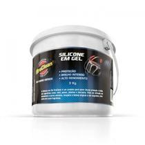 Silicone em Gel Automotivo 3Kg - Braclean -