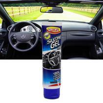 Silicone Gel Fosco Luxcar 120g Proteção UV Para Plástico Vinil e Couro -