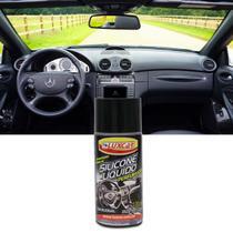 Silicone Líquido Perfumado Luxcar Tradicional 100ml Brilho Proteção UV para Plástico Borracha e Inox -
