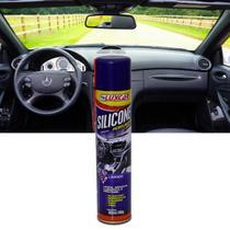 Silicone Perfumado Spray Lavanda Luxcar 300ml Proteção para Plástico Borracha Madeira Inox e Vinil -