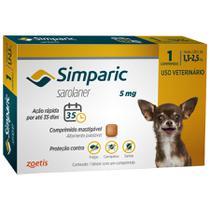 Simparic 1,3 a 2,5kg 5mg 1 comprimido - Zoetis