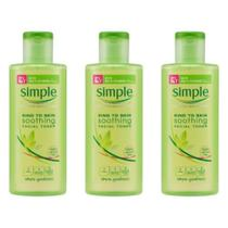 Simple Tônico Facial S/ Alcool 200ml (Kit C/03) -