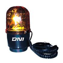 Sinalizador amarelo 24v magnético luz rotativa de advertência com lente especial de alta t - Dni