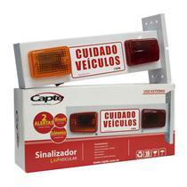 Sinalizador de veicular Garagem Entrada e Saída de Veículos Led - Bivolt Capte LED12 -