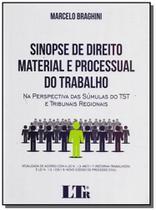 Sinopse dto. material e proc.do trabalho - 01ed/17 - Ltr editora
