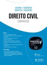Sinopses para concursos - direito civil - contratos - geral e especies - vol.13 - Juspodivm -