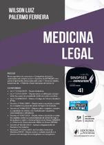 Sinopses para Concursos - Volume 41 - Medicina Legal - 5ª Edição (2020) - Juspodivm -