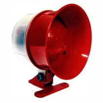 Sirene para monitoramento e incêndio - 12/24V - DNI 4325 -