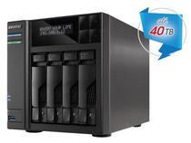 Sistema de Backup NAS Asustor AS6404T INTEL Dual Core J3455 1,5GHZ 8GB DDR3 Torre 4 Baias -