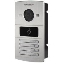 Sistema de Interfone IP com Câmera 1.3mp 720p 4 Teclas HikVision -