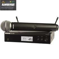 Sistema De Microfone Sem Fio BLX-24RBR/SM58 J10 - Shure -