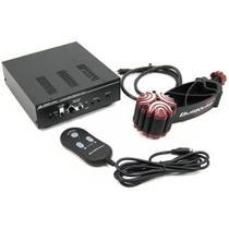 Sistema de vibração - ButtKicker Gamer2 - Preto/Vermelho - BK-GR-2 -