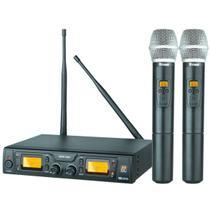 Sistema Microfone Sem Fio Digital Duplo SRW48D/HT48 - STANER -