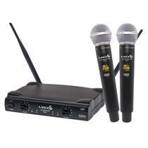Sistema Microfone sem Fio UH-08MM Duplo de Mão - LYCO -