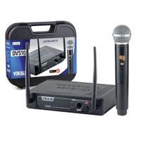 Sistema s/ fio profissional microfone d/ mão vokal - dvs100 -
