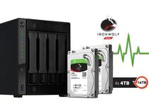 Sistema Storage NAS  Asustor AS4004T16000 1,60GHZ 2GB DDR4 Torre 16TB HOT-SWAP -