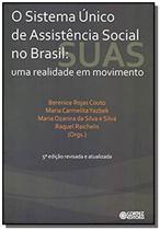 Sistema unico de assistencia social no brasil - um - Cortez -