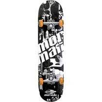 Skate Chill Street Completo Profissional Mormaii - Abec5 90a Preto -