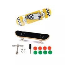 Skate De Dedo Extremo E Radical Série 1 Amarelo - Dtc