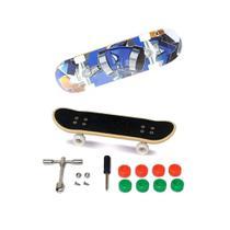 Skate De Dedo Extremo E Radical Série 1 Azul - Dtc