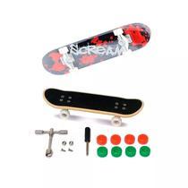 Skate De Dedo Extremo E Radical Vermelho - Dtc