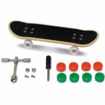 Skate De Dedo Profissional Fingerboard Manobras Kit Reparo - Dtc