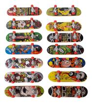 Skate De Dedo Profissional Kit 2 Mini Skate Truck Metal - Toys