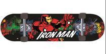 Skate DTC Marvel Homem de Ferro - Preto -