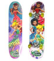 Skate Duplo Infantil Fadas 80cm 1129701 - Esm