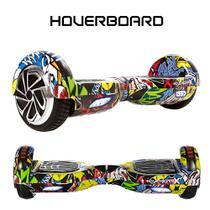 Skate Eletrico 6,5 HipHop Hoverboard SmartBalance Bluetooth -