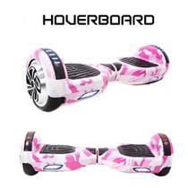 Skate Eletrico 6,5 Pink Military Hoverboard Smart Balance -