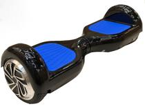 Skate Elétrico Hoverboard 6.5'' 3000s Preto com LED Frontal e Bluetooth - Foston -